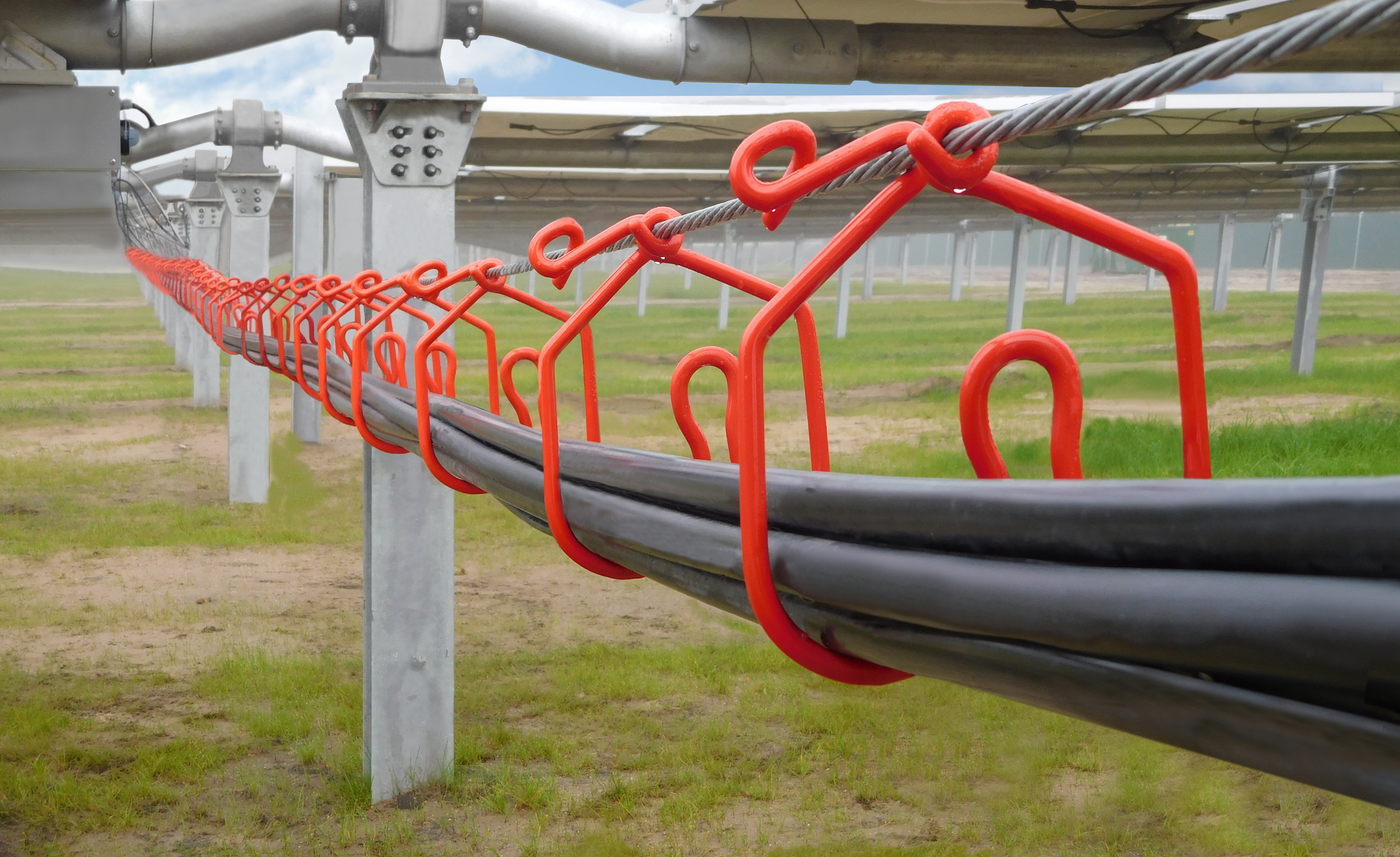 Alternatives To Trenching Or Burying Cables On Solar Farms