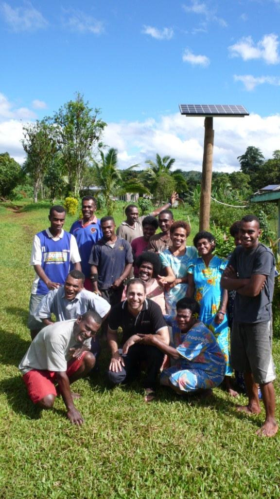 Kyocera Solar Panels >> Solar Energy Saves Remote Villages of Fiji
