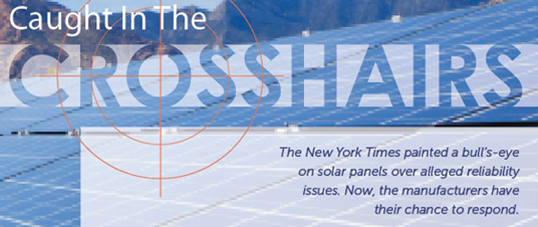 Reliability, Part III: Solar Panel Manufacturers Sound Off