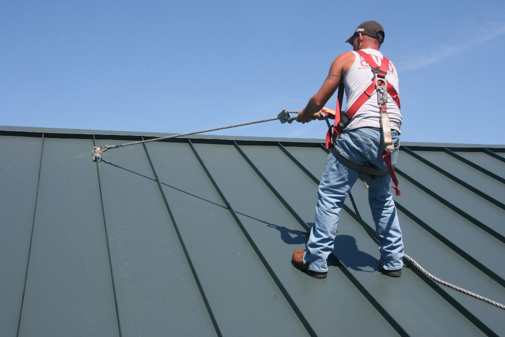 How To Stay Safe On Metal Roofs When Installing Solar