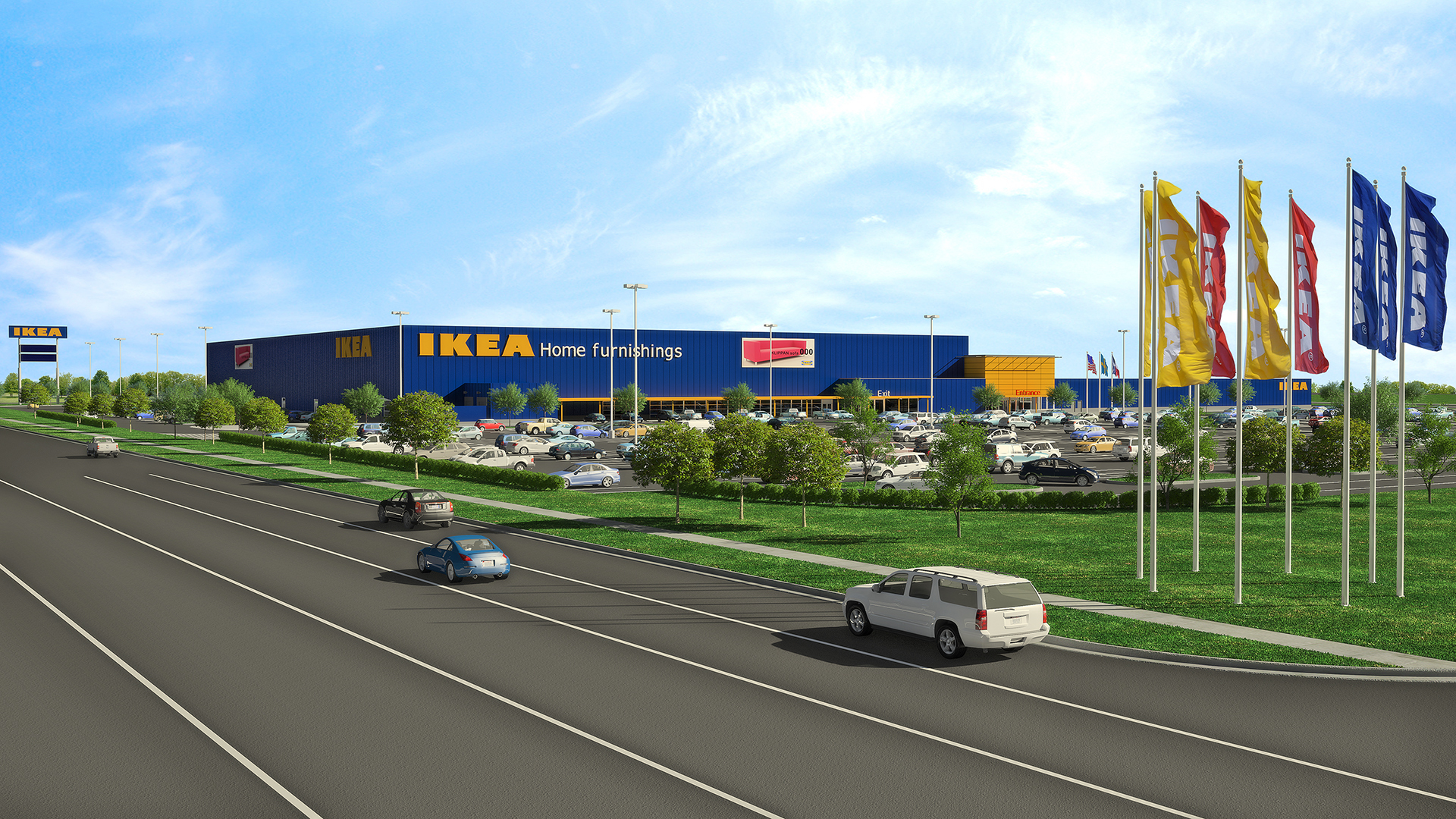Sunpower To Install System Atop Second Ikea Store In Dallas Fort Worth Area
