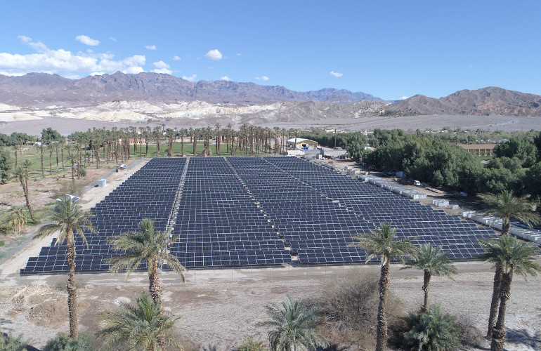 Installer uses solar+storage to keep the lights on, from